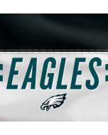 Philadelphia Eagles White Striped Moto X4 Skin
