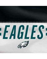Philadelphia Eagles White Striped Galaxy Grand Prime Skin