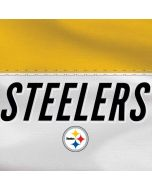 Pittsburgh Steelers White Striped Dell XPS Skin