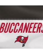 Tampa Bay Buccaneers White Striped Xbox One Console Skin