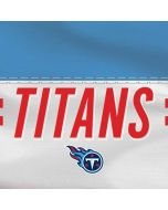 Tennessee Titans White Striped Yoga 910 2-in-1 14in Touch-Screen Skin