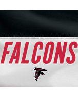 Atlanta Falcons White Striped Dell XPS Skin