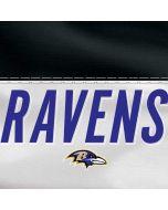 Baltimore Ravens White Striped Dell XPS Skin