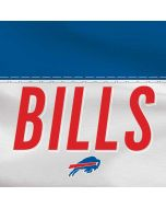 Buffalo Bills White Striped Dell XPS Skin