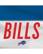 Buffalo Bills White Striped Yoga 910 2-in-1 14in Touch-Screen Skin