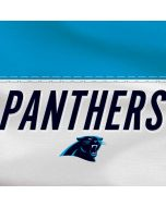 Carolina Panthers White Striped Yoga 910 2-in-1 14in Touch-Screen Skin