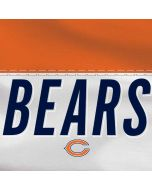 Chicago Bears White Striped Yoga 910 2-in-1 14in Touch-Screen Skin