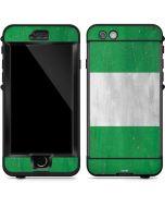 Nigeria Flag Distressed LifeProof Nuud iPhone Skin