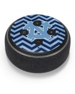 North Carolina Chevron Print Amazon Echo Dot Skin