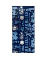 North Carolina Tar Heels Print Galaxy Note 10 Skin