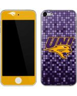 Northern Iowa Checkered Apple iPod Skin