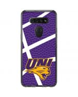 Northern Iowa Panthers Leather LG K51/Q51 Clear Case