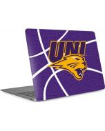 Northern Iowa Panthers Leather Apple MacBook Air Skin