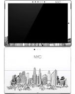 NYC Sketchy Cityscape Surface Pro (2017) Skin
