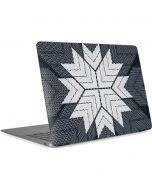 NYC Symmetric Flower Apple MacBook Air Skin