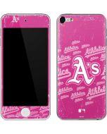 Oakland Athletics - Pink Cap Logo Blast Apple iPod Skin