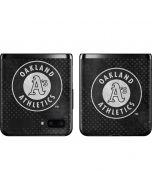 Oakland Athletics Dark Wash Galaxy Z Flip Skin