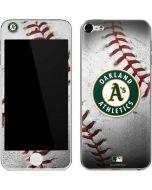 Oakland Athletics Game Ball Apple iPod Skin