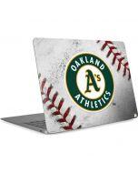 Oakland Athletics Game Ball Apple MacBook Air Skin