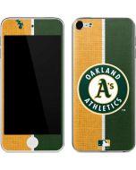 Oakland Athletics Split Apple iPod Skin