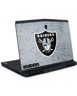 Las Vegas Raiders - Alternate Distressed Dell Alienware Skin
