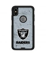 Las Vegas Raiders - Alternate Distressed Otterbox Commuter iPhone Skin