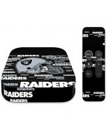 Las Vegas Raiders  - Blast Alternate Apple TV Skin