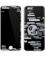 Las Vegas Raiders  - Blast Alternate Apple iPod Skin