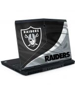 Las Vegas Raiders Dell Alienware Skin