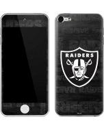 Las Vegas Raiders Black & White Apple iPod Skin