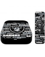 Las Vegas Raiders Black Blast Apple TV Skin