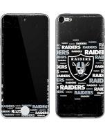 Las Vegas Raiders Black Blast Apple iPod Skin