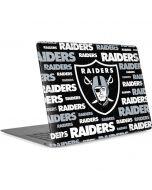 Las Vegas Raiders Black Blast Apple MacBook Air Skin
