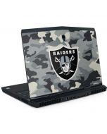 Las Vegas Raiders Camo Dell Alienware Skin