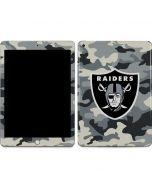 Las Vegas Raiders Camo Apple iPad Skin