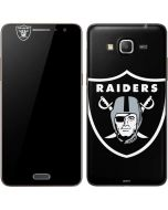 Las Vegas Raiders Large Logo Galaxy Grand Prime Skin