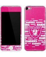 Las Vegas Raiders Pink Blast Apple iPod Skin