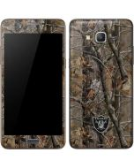 Las Vegas Raiders Realtree AP Camo Galaxy Grand Prime Skin