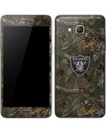 Las Vegas Raiders Realtree Xtra Green Camo Galaxy Grand Prime Skin
