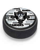Las Vegas Raiders Silver Blast Amazon Echo Dot Skin