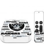 Las Vegas Raiders Silver Blast Apple TV Skin