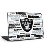 Las Vegas Raiders Silver Blast HP Chromebook Skin