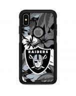 Las Vegas Raiders Tropical Print Otterbox Commuter iPhone Skin