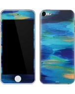 Ocean Blue Brush Stroke Apple iPod Skin