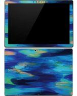 Ocean Blue Brush Stroke Surface Pro (2017) Skin