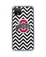 Ohio State Chevron Print Google Pixel 4 Clear Case