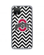 Ohio State Chevron Print Google Pixel 4 XL Clear Case