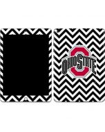 Ohio State Chevron Print Apple iPad Skin