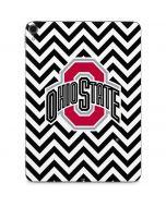 Ohio State Chevron Print Apple iPad Pro Skin