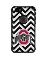 Ohio State Chevron Print iPhone 6/6s Waterproof Case